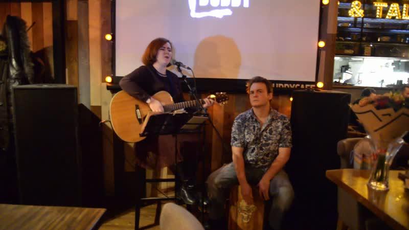 Дуэт Лины Кальм в The Buddy Cafe