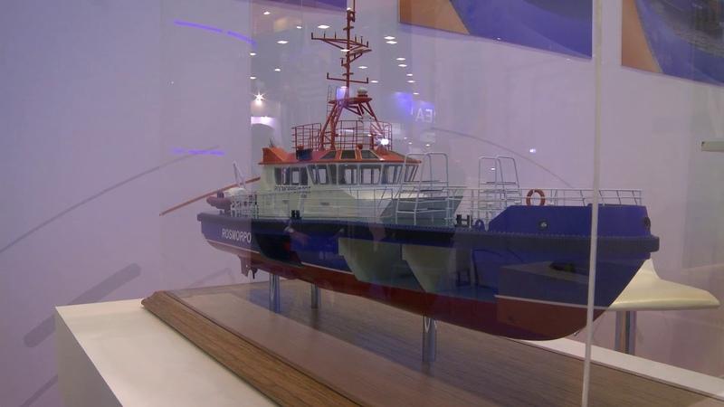 Энергоэффективный лоцманский катер для флота Росморпорта