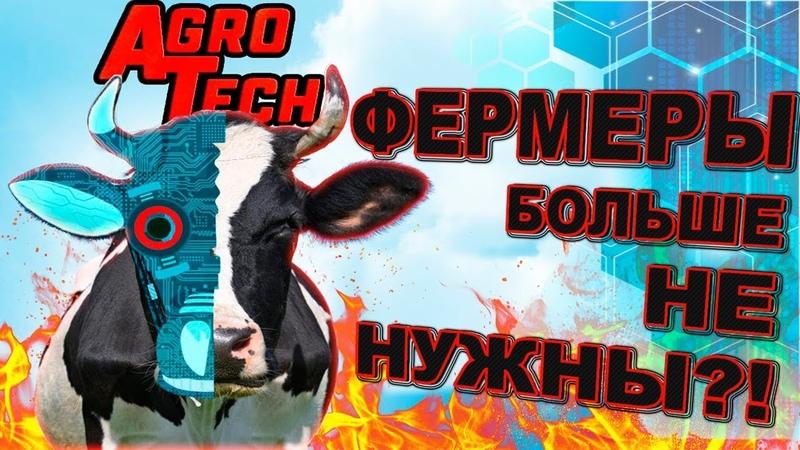 Роботизированная молочная ферма Коровы доятся сами AgroTech
