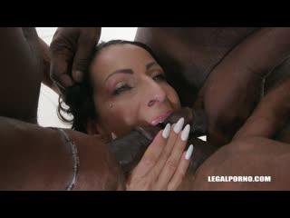 Valentina sierra gets fucked like a bitch (milf, anal, big tits, gangbang, dap, toys, gape, fisting, interracial, lingerie, dp)