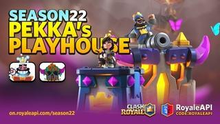 Clash Royale Season 22: Pekka's Playhouse - Emotes, Tower Skins (April 2021)