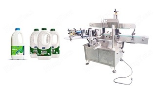Automatic Single Label Four Sides no-dry Sticker Label Applicator