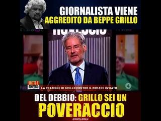 Giorgia Meloni: Cosa c'è Beppe, sei innervosito alla domanda su Fratelli d'Italia? Sei un poveraccio