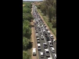 Протесты в Хартсуотере против убийств белых фермеров (ЮАР) :