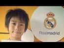 中井卓 Takuhiro Nakai Real Madrid's Wonderkid Skills 2013