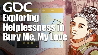 Exploring Helplessness in Games with Bury Me, My Love