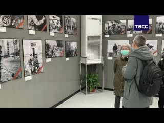 Выставка фотографий к 75-летию Победы в Великой Отечественной войне открылась в Нанкине