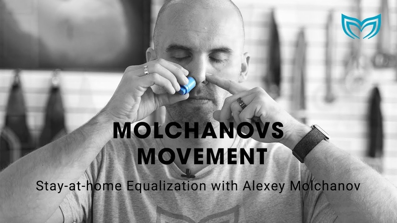 Molchanovs Movement Stay at home Equalization with Alexey Molchanov Molchanovs Freediving
