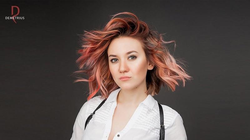 DEMETRIUS Женская стрижка Шегги Стрижка на средние волосы Каре модные стрижки 2020