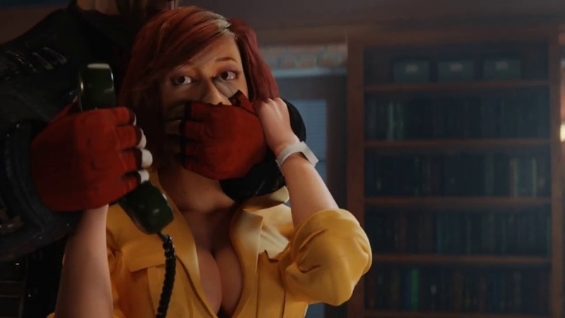 April O'Neil cought snooping