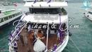 Perihan Cem Wedding Teknede Düğün Belgeseli İstanbul Boğaz Turu Eşliğinde