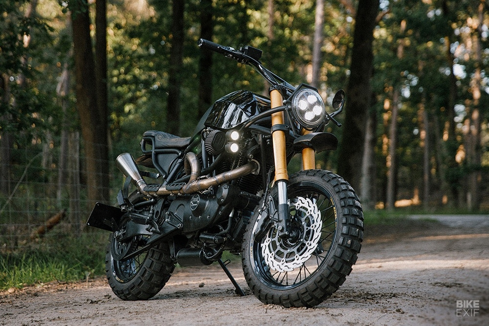 Moto Adonis: скрэмблер Buell X1
