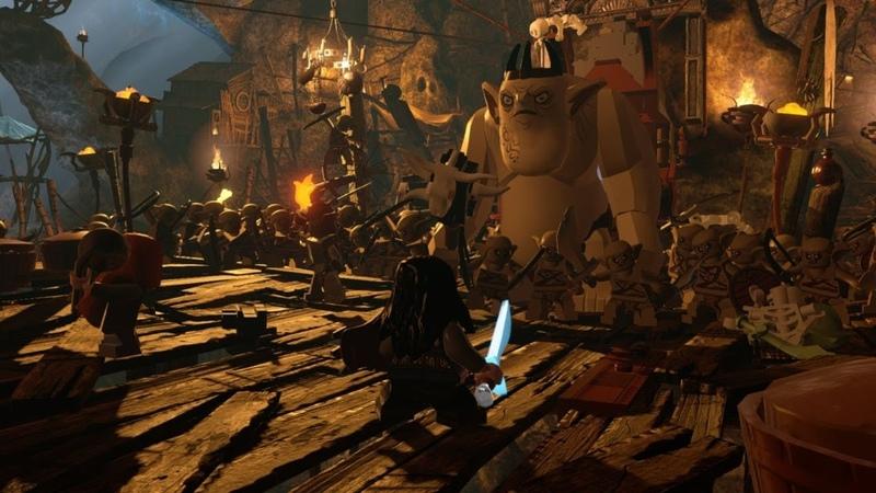 LEGO The Hobbit LEGO Хоббит Прохождение 4 PS4 Gameplay