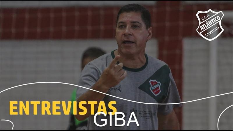 Entrevista com o treinador Giba