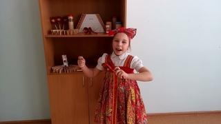 Соколова Светлана, Г.Стерлитамак, «Солист» (народный вокал), 6-9 лет. 1 произведение