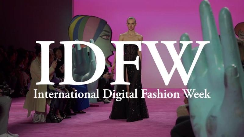 International Digital Fashion Week IDFW Fashionweek NYFW LFW MFW PFW Swimweek Covid 19