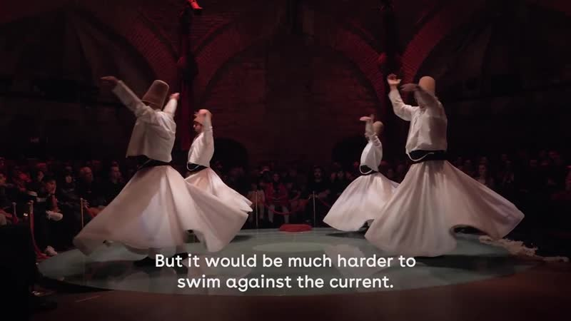 The Whirling Dervishes - Dancing to Get Closer to God