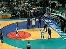 Anthony Mason Triple Double 31pts 14rebs 11asts vs Raptors 2000