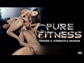 Kitana Lure & Angelika Grays & Liya Silver - Strength & Passion  [2020 г., Anal, Threesome, Lesbian]