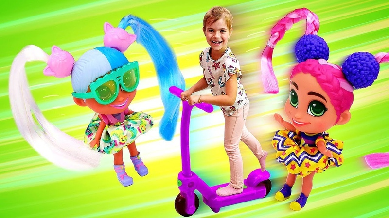Куклы-загадки Hairdorables. Новые Hairdorables малышки сестрички! Видео распаковка для девочек.
