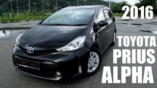 Toyota - Prius Alpha (обзор тест драйв)