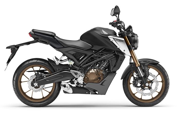 Обновленный нейкед Honda CB125R 2021