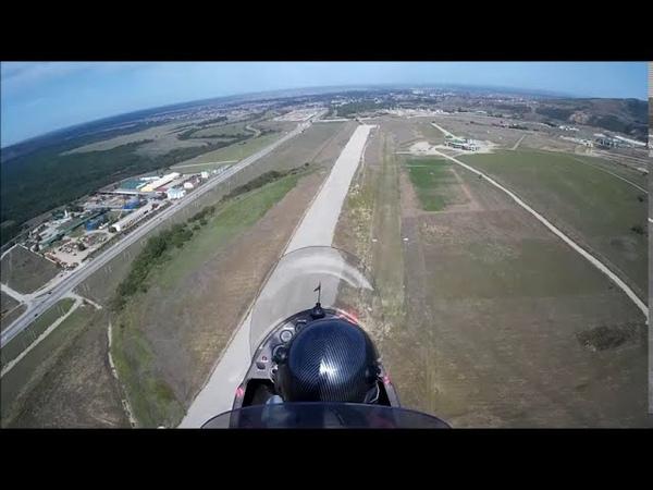 интересный летательный аппарат в РУС Летаем на автожире