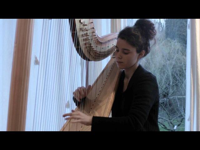 Debussy Deux Arabesques Harpe Héloïse de Jenlis