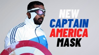 How to make  New Captain America mask | The Falcon and Winter Soldier mask|DIY Captain America mask