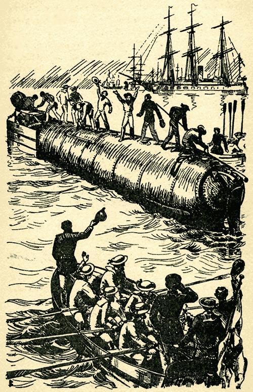 Подводная лодка «Зеетойфель» конструкции В. Бауэра