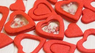 Печенье в форме сердца. ОРИГИНАЛЬНОЕ печение удивит ваших любимых.