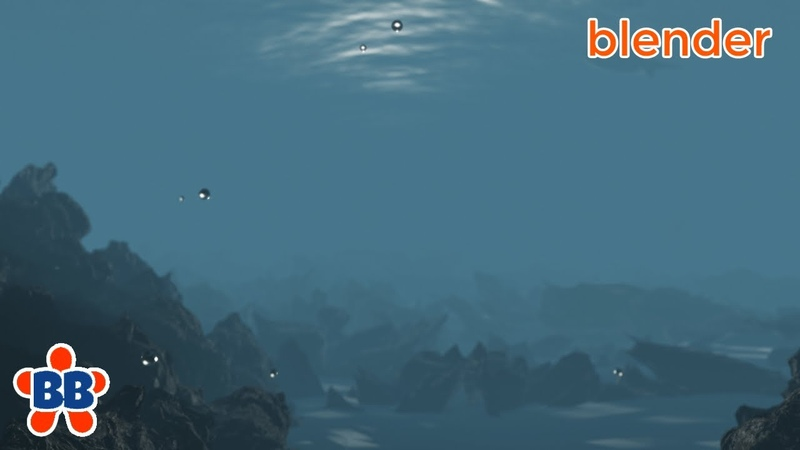 Fast Blender 2 8 Underwater Environment Pre Vis Style in EEVEE Quick and Dirty