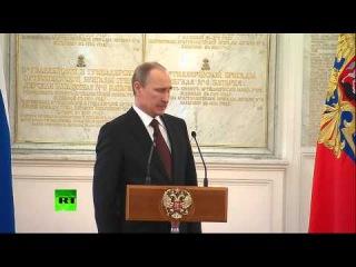 Путин распорядился передать Украине технику и вооружение частей, не перешедших на сторону РФ