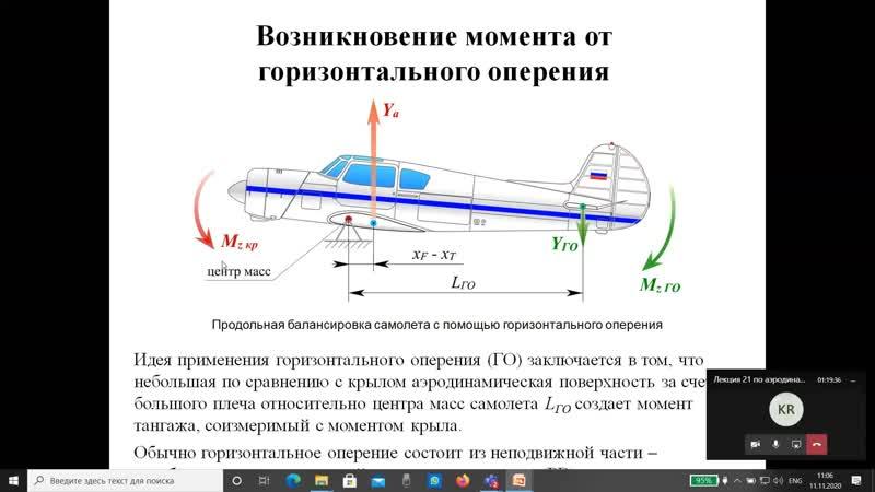 Аэродинамика Лекция 11 11 2020