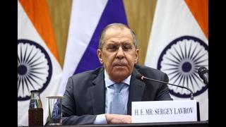 Совместная пресс-конференция С.Лаврова и С.Джайшанкара, Нью-Дели, 6 апреля 2021 года