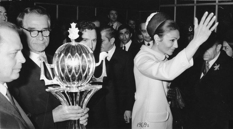 """1969 год. """"Спартак"""" в Иране"""