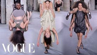 Why Rick Owens Spring 2016 Was the Best Show Ever   Vogue