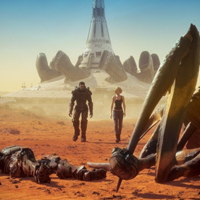 UNCUT Starship Troopers Traitor of Mars 2017