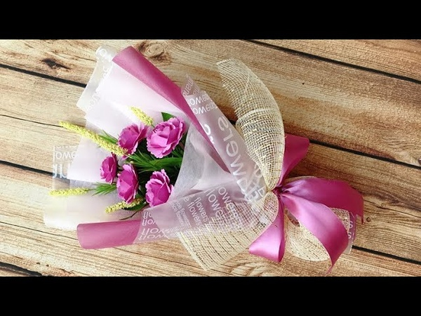 ABC TV | How To Make Paper Flower Bouquet 1 - Craft Tutorial