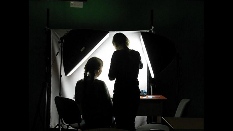 Аніматори за роботою (Савосіна Олена та Смолдарева Ангеліна)