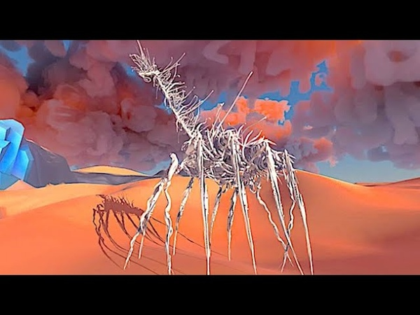 Paper Beast A Surreal Dreamlike Ecosystem of Strange Paper Beasts from the Creator of Another World