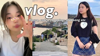 daily vlogs: in korea, friends, food, and Jeju