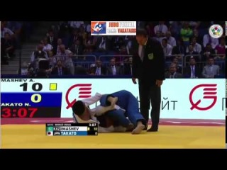 World Judo Championships Seniors, Chelyabinsk 2014 Bronze -60kg IMASHEV (KAZ) - TAKATO Naohisa (JPN)