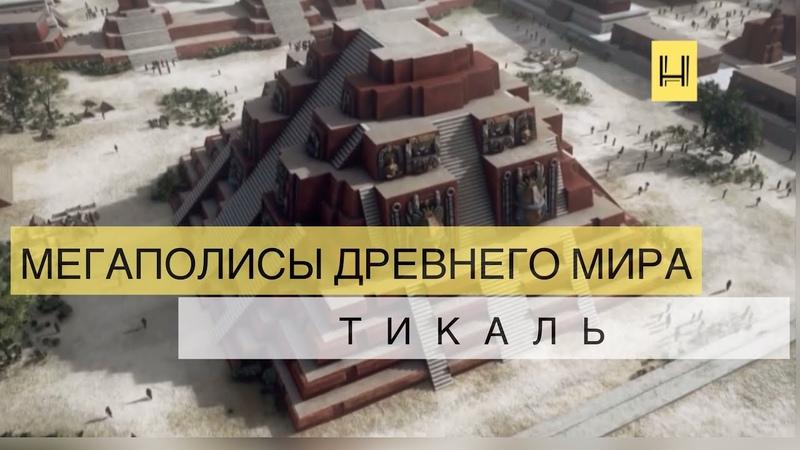 Мегаполисы древнего мира Тикаль столица цивилизации Майя