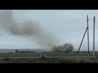 Обстрел вражеских позиций, Физули, 27 сентября