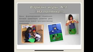 «Инновационный подход в проектировании дидактических и игровых средств обучения детей с  ОВЗ»