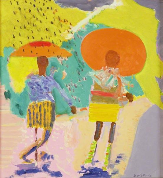 Черные девушки гуляют под солнечным душем, Вашингтон