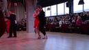 Pavel Sobiray and Nadezda Pivovarova Милонга России Полуфинал танец 1