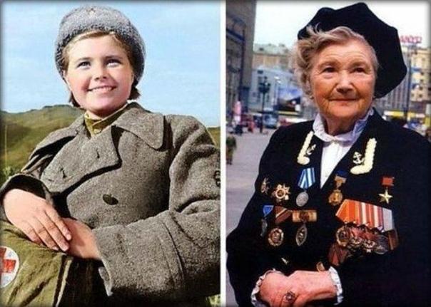 Екатерина Илларионовна Михайлова(Демина) Герой Советского Союза. Ушла на фронт когда ей было 15 лет.СПАСИБО ЗА