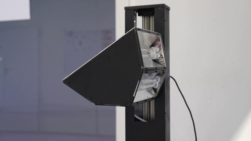 ROVéo UVC presentation of very 1st prototype